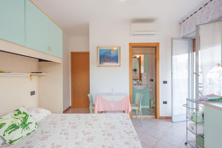 Einzimmerwohnung mit privat Bad - Bardolino - Apartemen