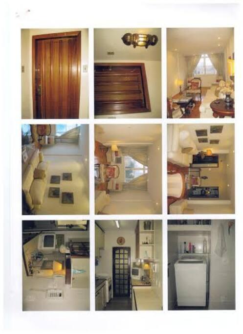 Várias fotos do apartamento