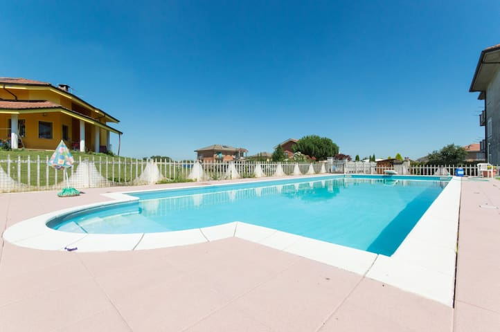 Appartamento in Villa,con  Piscina! - Alice Castello - Apartament