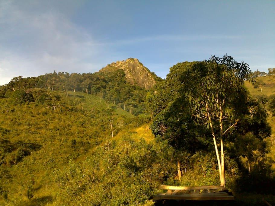 Ana Chata vista da propriedade