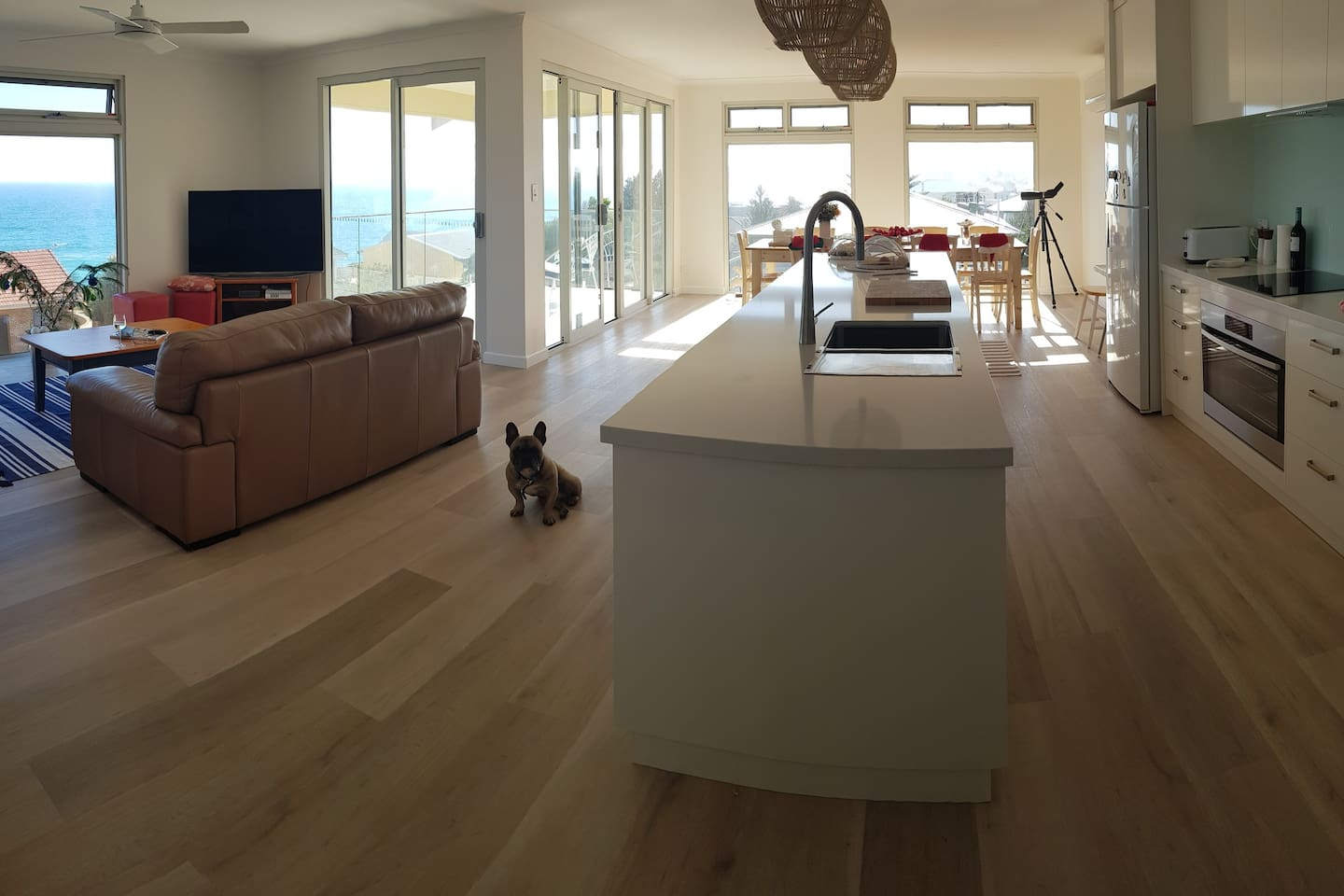First floor view including Lounge,  Kitchen, Dining area and Balcony