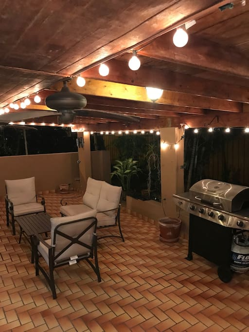 Back terrace/patio