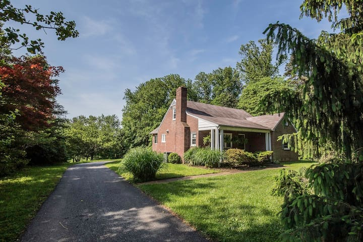 Private Home: County Charm minutes from Baltimore - Lutherville-Timonium - Hus
