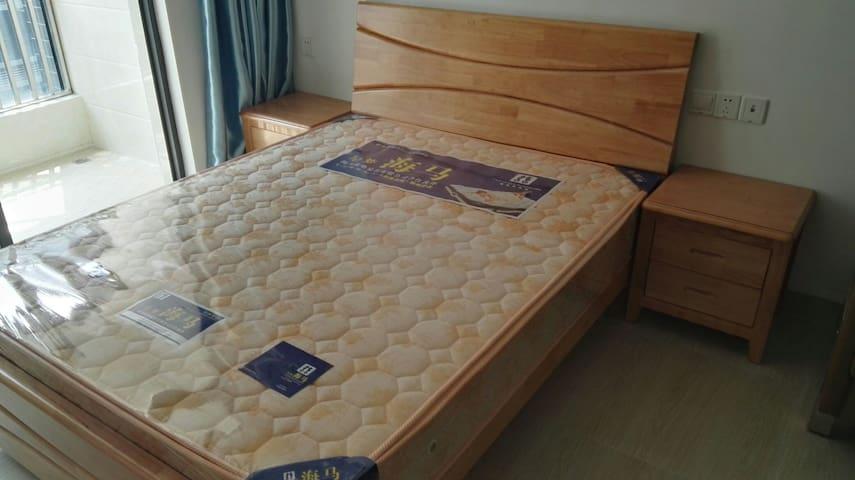 安全、整洁的全新小公寓 - Foshan - Wohnung