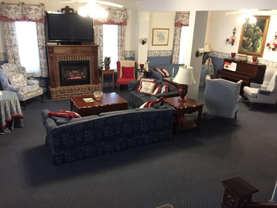 Double Living Room For All Guests