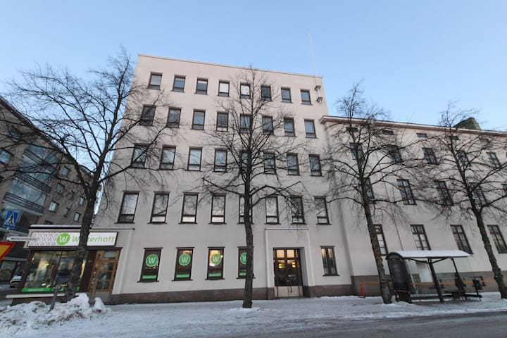 Forenom  apartment in the heart of Hämeenlinna