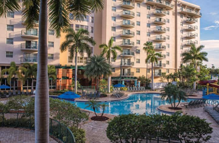 Wyndham Palm-Aire Pompano Beach/Ft. Laud. FL 2 BR