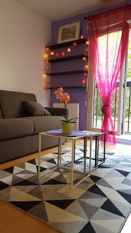 Quiet and charming place close to the Canal - Paris - Apartamento