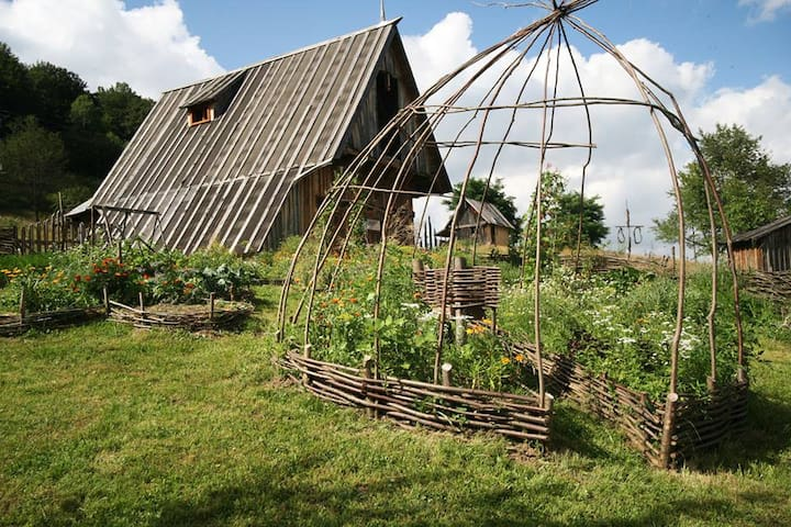 Mountain homestead experience - Mărgău - キャビン