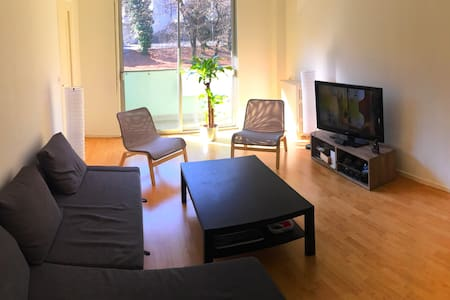 Nice flat close to lake/transports/center - Genève - Lägenhet