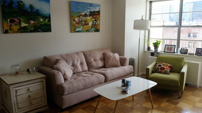 Beautiful, sunny 1BR apartment in prime location! - Boston - Flat
