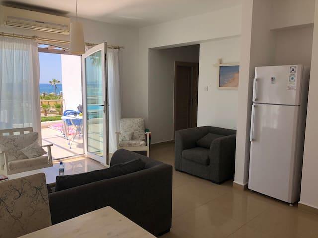 трехкомнатная квартира 1 линия, вид на море