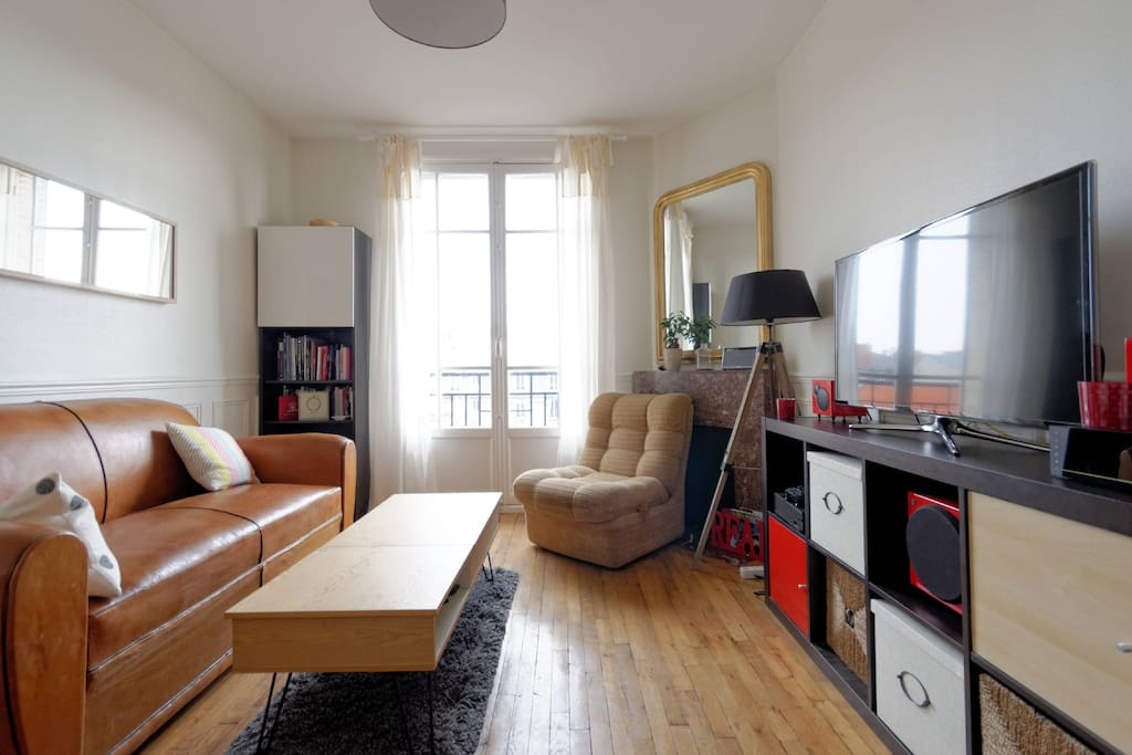 appartement cosy 45 m2 3 min rer appartements louer vincennes le de france france. Black Bedroom Furniture Sets. Home Design Ideas