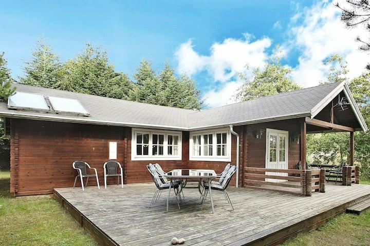 Maison de vacances cosy avec terrasse à Hurup