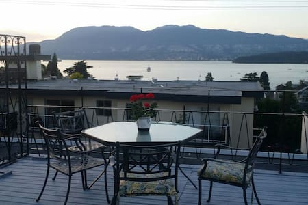 Two Bedroom Penthouse - Stunning View of Ocean - Vancouver