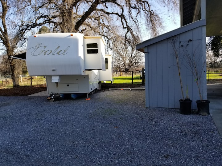 RV hookups on 2 acres