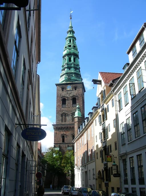 Sankt Nikolaj Kirke (Sct. Nikolai Church) - located on the square in front of the apartment