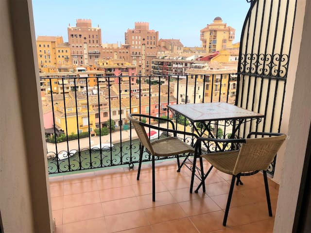 Apartamento Port Saplaya con Garaje+ Wi-Fi+Piscina