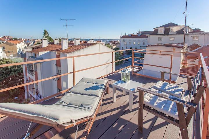 Roof Terrace@Bairro Alto/Principe R