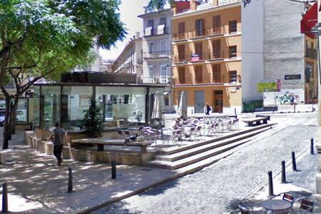 Habitación individual en el Carmen - València - Bed & Breakfast