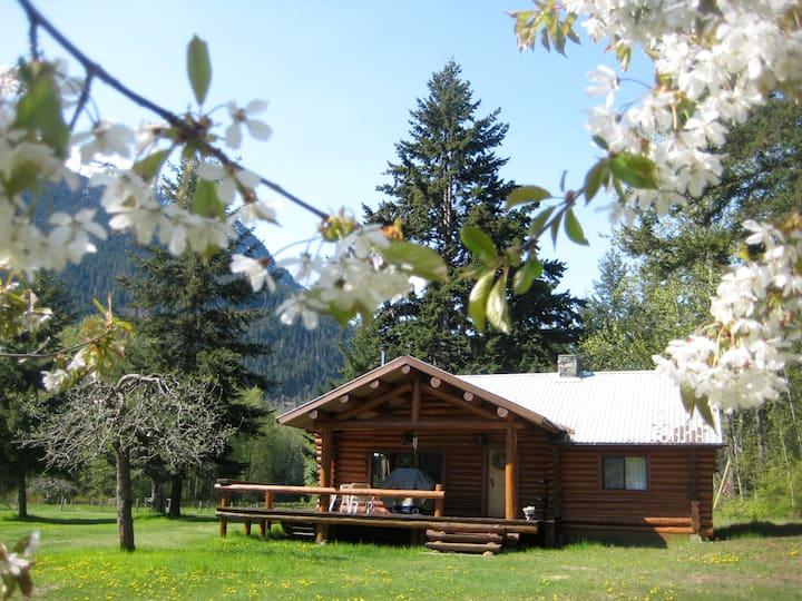 Cottage at Gates Lake, Birken, BC