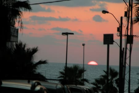 on the sea front gordon beach - Tel Aviv - Wohnung