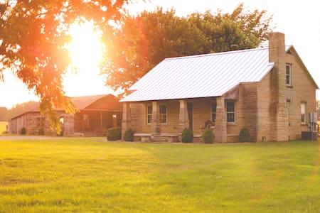 Stone Homestead Farmhouse