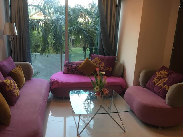 Cozy apartment of 44m2 in 200 meters from the sea - Muang Pattaya - Appartement