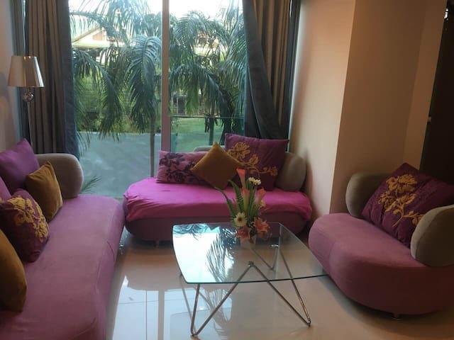 Уютные апартаменты 44м2  в 200 метрах от моря. - Muang Pattaya
