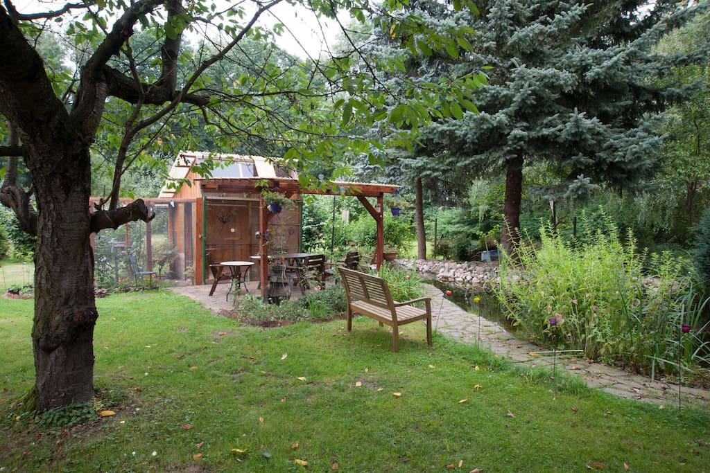 gr ne oase houses for rent in heiligengrabe brandenburg germany. Black Bedroom Furniture Sets. Home Design Ideas