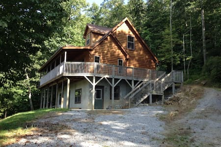 Peaceful Cabin Retreat GROUPS,FAMILIES,or Couples - Hendersonville - Σπίτι