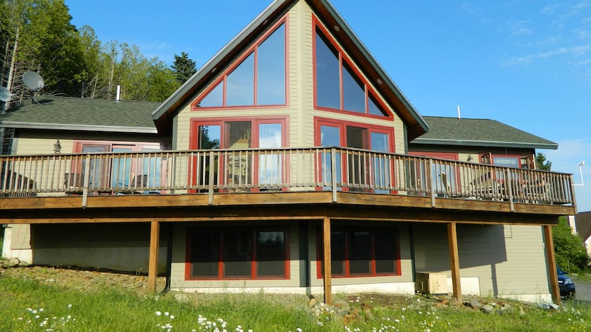Custom Built Home w/Panoramic View - Rangeley - Ev