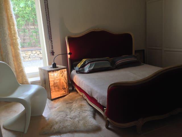 Chambre d hôte pour 2 avec piscine. - Forcalquier - Bed & Breakfast