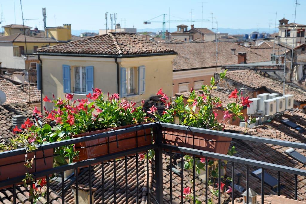 Bel monolocale con vista sui tetti appartamenti in for Appartamenti in affitto modena
