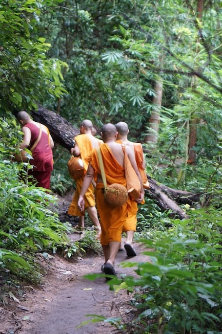 The trail that monks did a decades ago