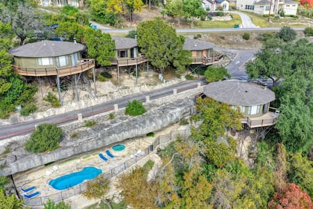 Stand Alone Private Lake Travis Yurt Treehouse 15