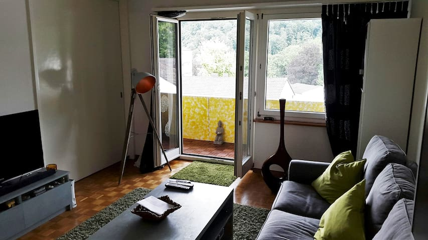 Nice 16m2 Room with Terrace - Zürich - Apartemen