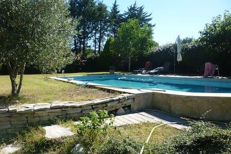 chambre dans villa avec piscine - Aix-en-Provence