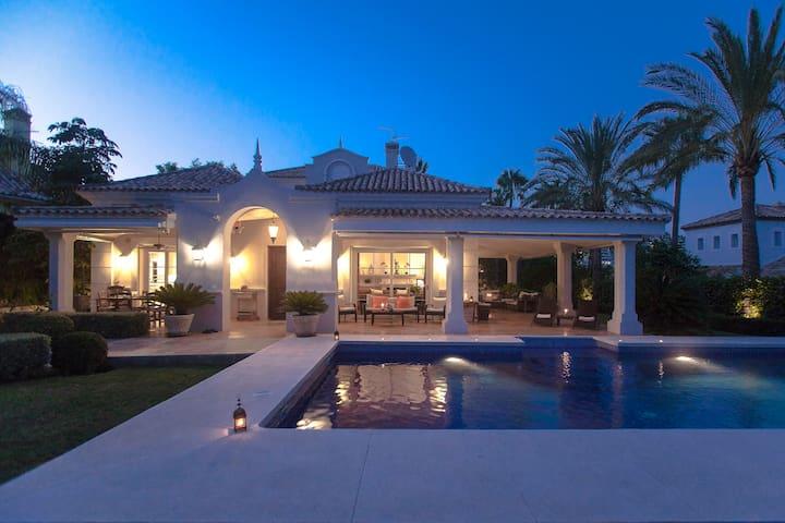 Confortable Villa Golf/Banus Heated Swimming Pool - Marbella - Casa de camp