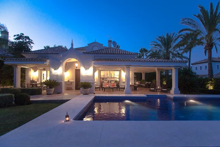 Confortable Villa Golf/Banus Heated Swimming Pool - Marbella - Villa