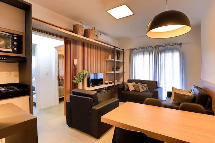 Encanto de Canela Estilo- Apartamento Novo