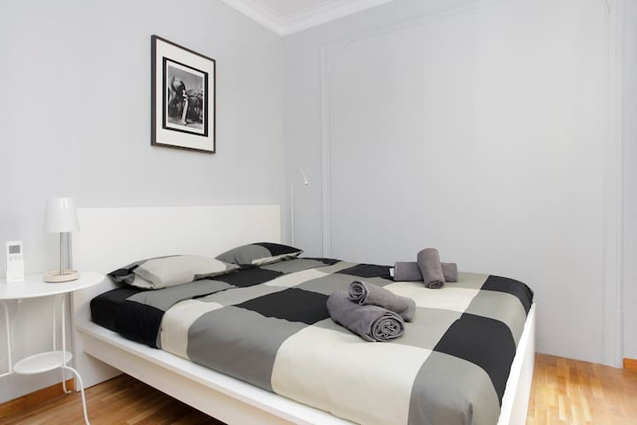 Double big room with air conditioning