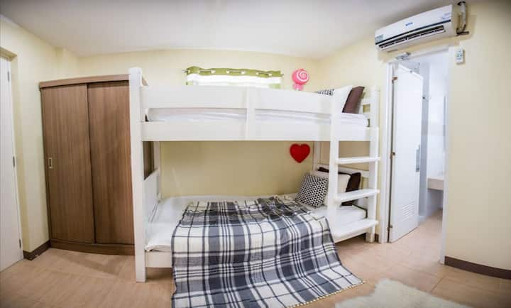 3A (Female Dormitory, 1 bunk bed, good for 2women)