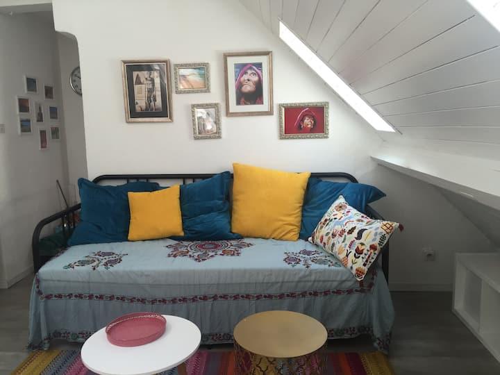 Hyper centre Annecy, studio mezzanine 2 prs