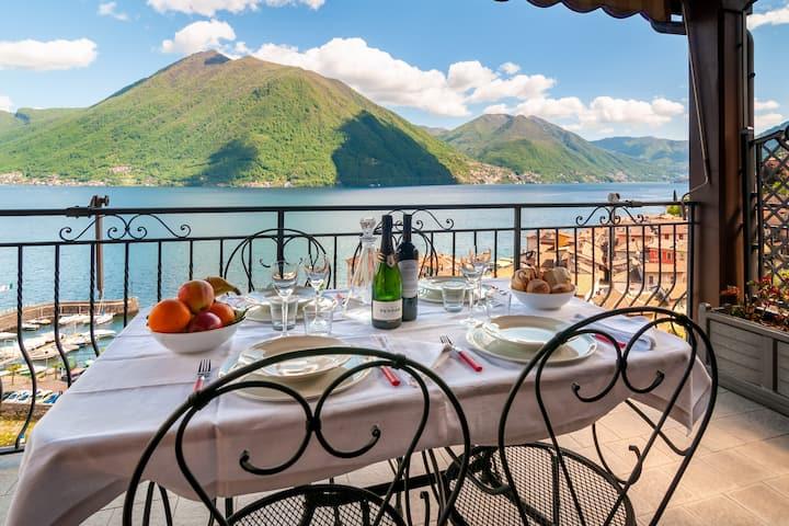 """Lake Como - """"Villa Pierina"""" in Argegno"""