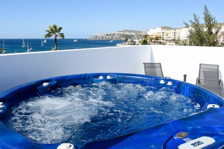 Pura Vida Beach Suites 1C 2bedroom with balcony - Arguineguin - Pis