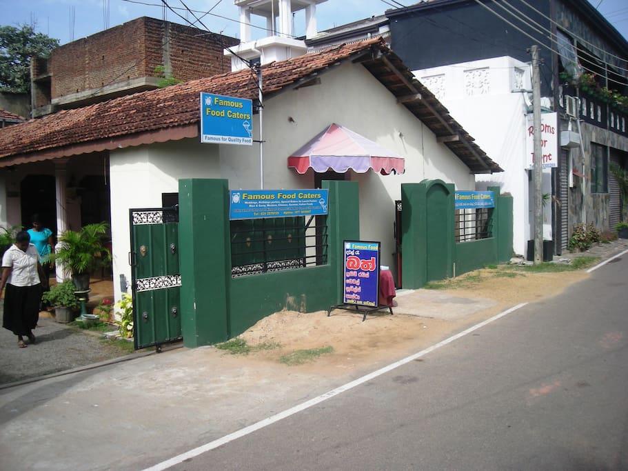 Eingang Restaurant - Entrance Restaurant