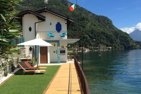 Villa Damia, directly on the lake
