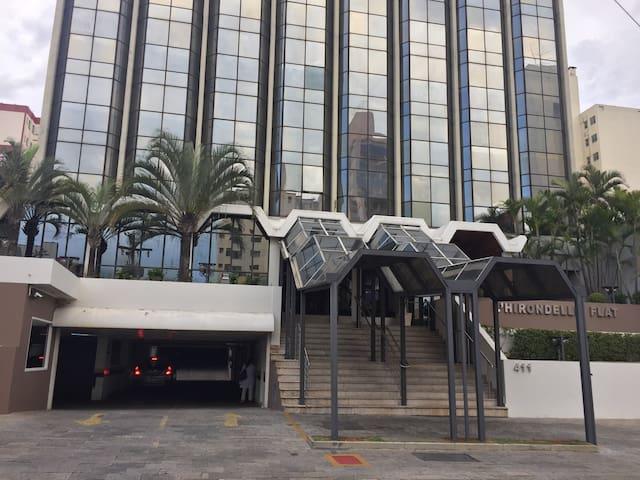 Apto Flat Mobiliado Centro c/gar - Campinas - Apartmen