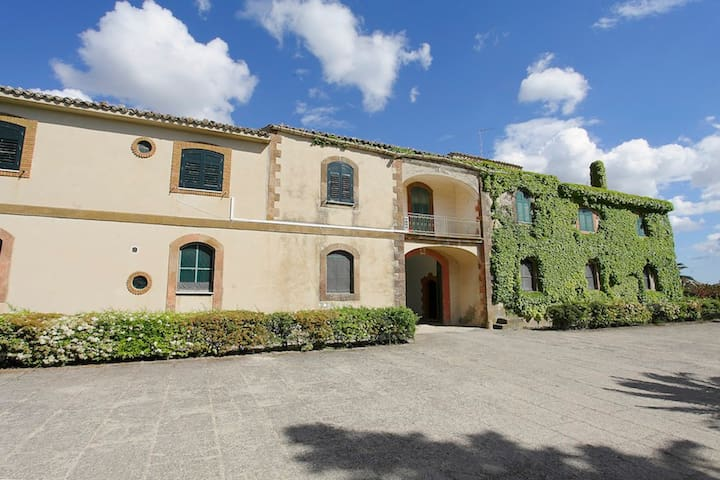 Masseria Floresta Casa Ribatteria - Mazzarino - Apartment